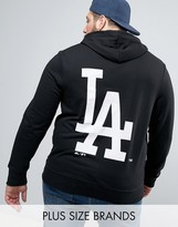 Majestic PLUS L.A. Dodgers Hoodie With Back Print