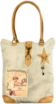Vintage Addiction Tan Be 'Kind To Animals' Canvas Tote