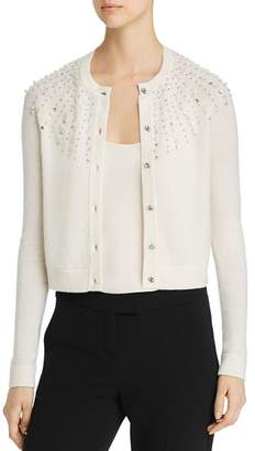 Bloomingdale's C by Embellished Cashmere Cardigan - 100% Exclusive