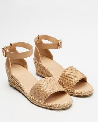 Human Premium - Women's Neutrals Sandals - Habit - Size 38 at The Iconic