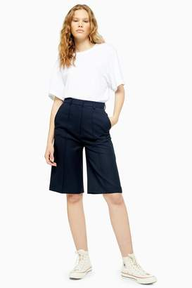 Topshop Wool Tailored City Shorts