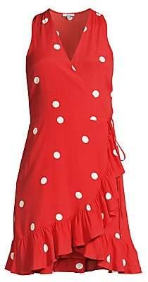 Rails Women's Madison Polka-Dot Wrap Dress