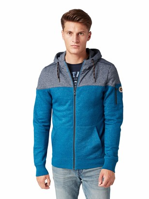 Tom Tailor Men's Zweifarbige Track Jacket