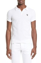 DSQUARED2 Men's Ciro Dog Extra Trim Fit Polo