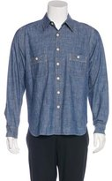 Billy Reid Chambray Button-Up Shirt