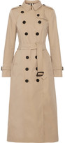 Burberry The Sandringham Cotton-gabardine Trench Coat