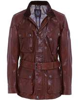 Belstaff Leather Panther Jacket