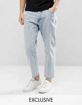 Cheap Monday Inlaw 90s Blue Ripped Knees