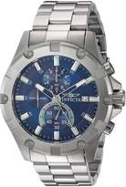 Invicta Men's 'Pro Diver' Quartz Stainless Steel Casual Watch, Color:Silver-Toned (Model: 22750)