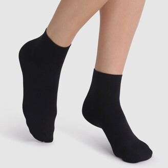 Dim Pack of 2 Pairs of Skin Soft Ankle Socks