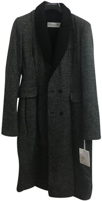 Christian Dior Grey Wool Coat for Women