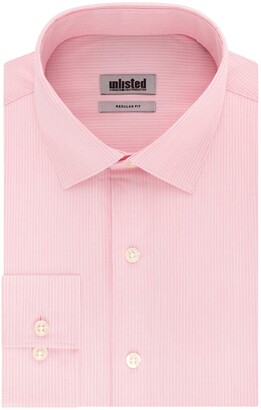 Kenneth Cole Reaction Men's Dress Shirt Regular Fit Stripe