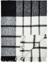 Agnona Anna Checked Alpaca-Wool Throw
