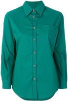 Marni contrast stitch shirt