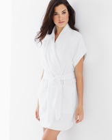 Soma Intimates Cotton Terry Short Sleeve Robe