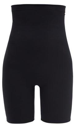 Commando Classic Control High-rise Shaping Shorts - Black