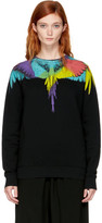 Marcelo Burlon County of Milan Black Neurk Sweatshirt