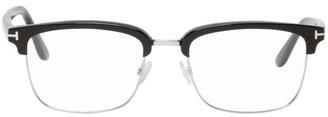 Tom Ford Black Half-Rim Glasses