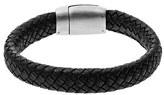 Skagen 'Vinther' Woven Leather Bracelet