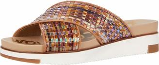 Sam Edelman womens Audrea Slide Sandal Bright White 6 W