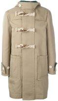 Sacai frayed edge duffle coat