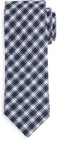 Todd Snyder Madras-Check Cotton Tie, Navy