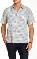 Toscano Short Sleeve Bias Check Shirt