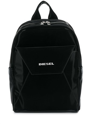 Diesel Top-Zip Structured Backpack