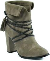 Hot Kiss Taupe Dalia Boot