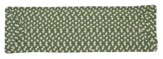 Green Cream Marathovounos Pad Green/Cream Stair Treads Bay Isle Home Quantity: Set of 13