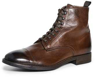To Boot Richmond Cap Toe Lace Boots