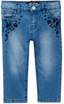 XOXO Stretch Denim Capri (Little Girls)