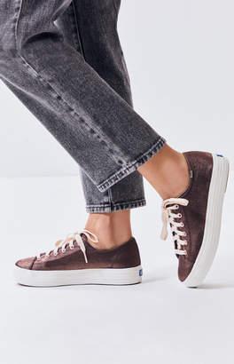 Keds Women's Triple Kick Shantung Sneakers