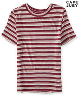 Aeropostale Womens Cape Juby Striped Baby Tee Shirt