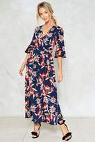 Nasty Gal nastygal Don't Let the Sun Catch You Crying Floral Dress
