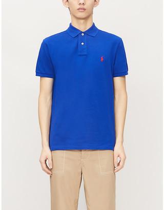 Polo Ralph Lauren Logo-embroidered cotton-pique polo shirt