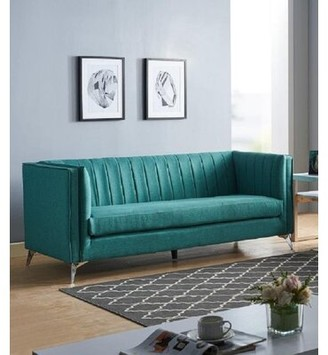 "Everly Quinn Montgomery 80"" Tuxedo Arm Sofa"