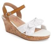 Jessica Simpson Girl's Fabiana Wedge Sandal