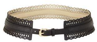 BCBGMAXAZRIA Perforated Waist Belt