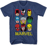 Novelty T-Shirts Marvel Short-Sleeve Mugs Tee