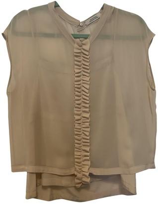 Schumacher Dorothee Ecru Silk Top for Women