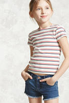 FOREVER 21 girls Girls Striped Top (Kids)