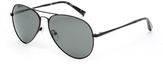 Ted Baker 57mm Metal Aviator Sunglasses