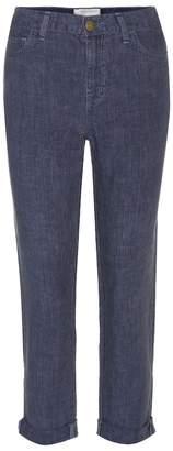 Current/Elliott Fling linen trousers