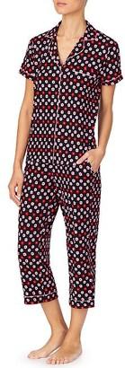 Kate Spade Mini Primrose Cropped Knit Pajama Set