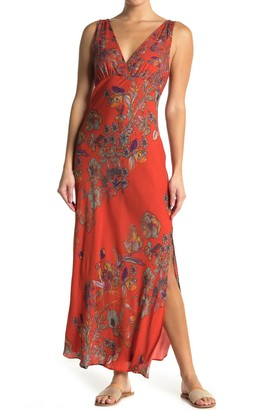 Free People Never Too Late Floral Maxi Dress