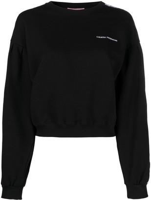 Chiara Ferragni Embroidered Logo Sweatshirt
