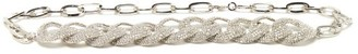 Alessandra Rich Crystal-embellished Chain Belt - Womens - Crystal