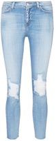 L'Agence 'El Matador' distressed high rise jeans