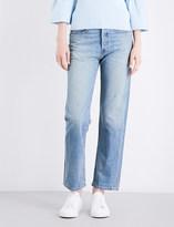 Elizabeth and James Loose boyfriend-fit mid-rise jeans